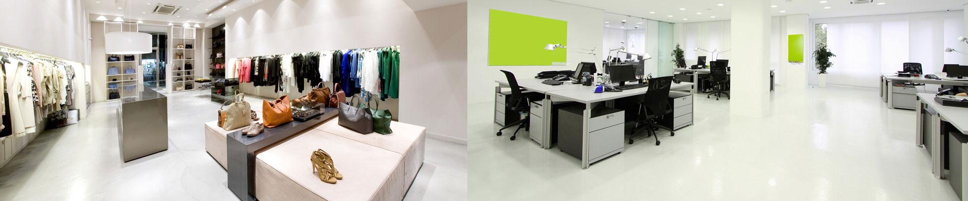 Обслуживание магазинов и офисов